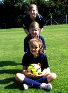 Schools festival girls footy