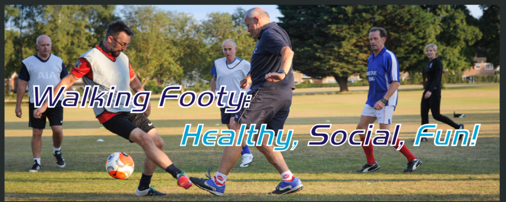 Slide Walking Footy 2020 with text