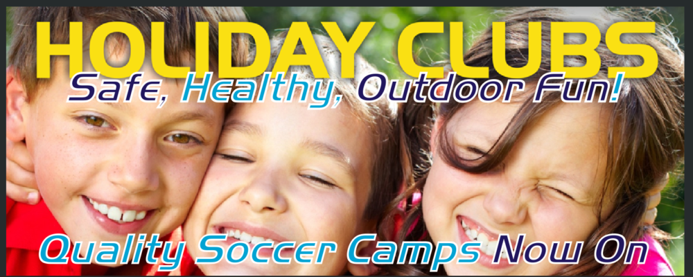 Slide Holiday Clubs with text